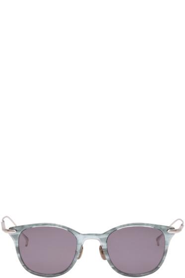 Issey Miyake Men - Blue Wellington II Sunglasses
