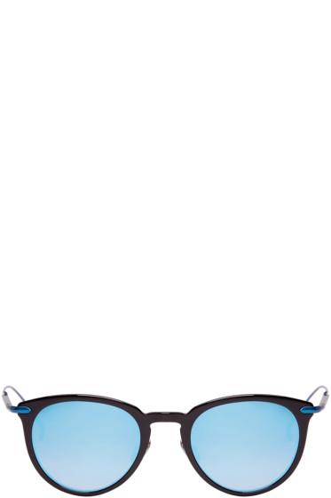 Issey Miyake Men - Black & Blue Boston II Sunglasses