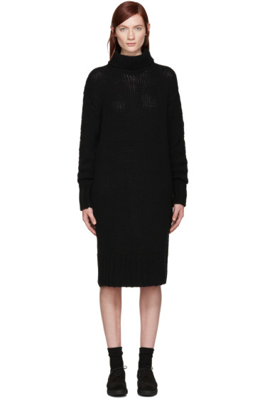 Y's - Black Turtleneck Dress