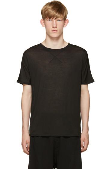 Isabel Benenato - Black Jersey T-Shirt