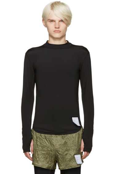 Satisfy - Black Compression T-Shirt