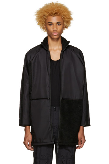 Cottweiler - Black Oversized Coat