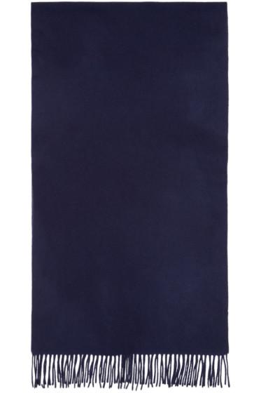 M.R. Editions - Navy Wool Scarf
