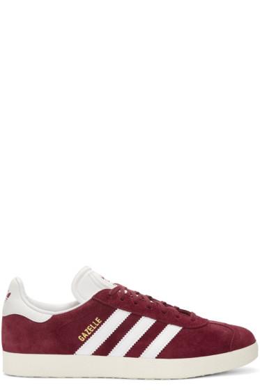 adidas Originals - Burgundy OG Vintage Gazelle Sneakers
