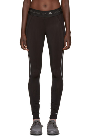 adidas by Stella McCartney - Black Climaheat Leggings