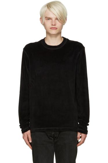 Fanmail - Black Velour Pullover