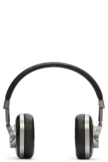 Master & Dynamic - Gunmetal & Black Wireless MH60 Headphones