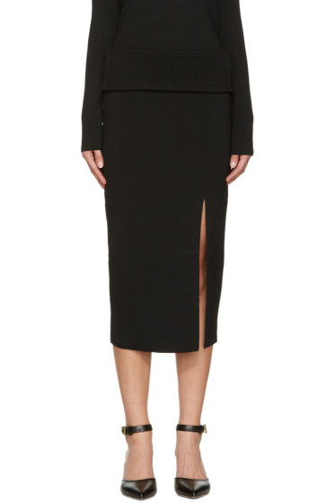 Totême - Black Tripoli Skirt