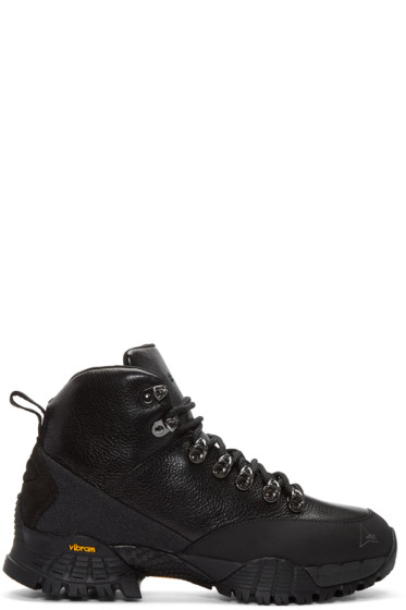 Alyx - Black Leather Hiking Boots