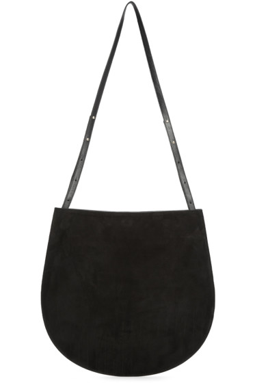 Tsatsas - SSENSE Exclusive Black Suede Cale Bag
