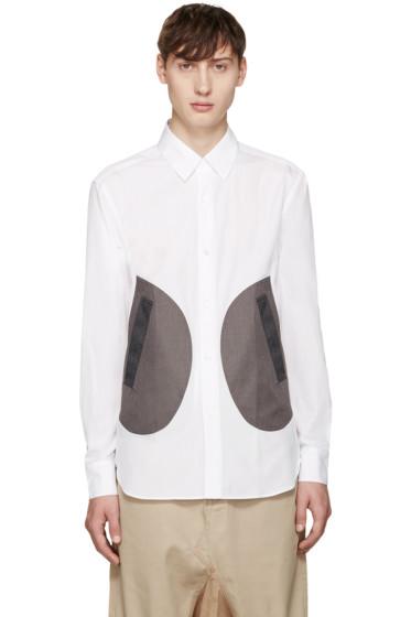 ganryu - White Pocket Shirt