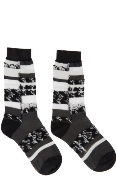 Issey Miyake - Black Cosmos Socks