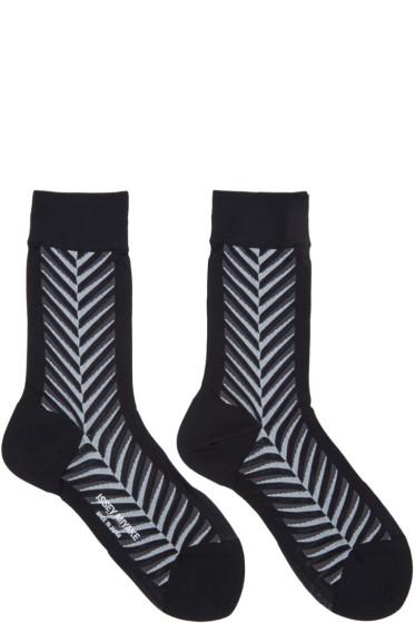 Issey Miyake - Black Neptune Socks