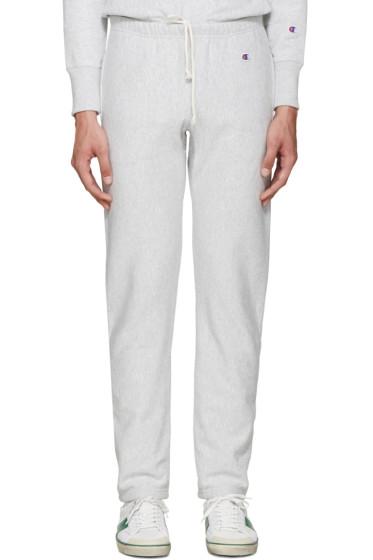 Champion Reverse Weave - Grey Reverse Weave Terry Lounge Pants