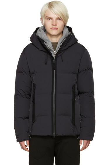 ISAORA - Grey Down Tech Jacket