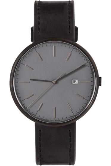 Uniform Wares - Gunmetal & Black M40 Watch