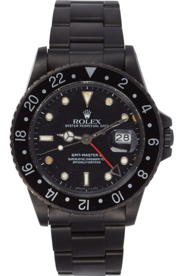 Black Limited Edition - Matte Black Limited Edition Rolex GMT Master II Watch