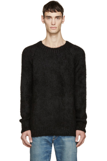 Visvim - Black Alpaca Highland Sweater
