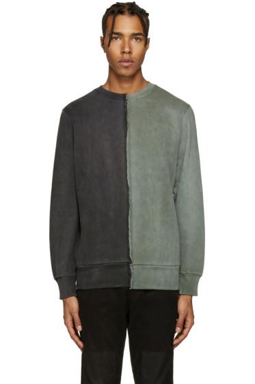 Diesel - Black & Green S-Double Sweatshirt