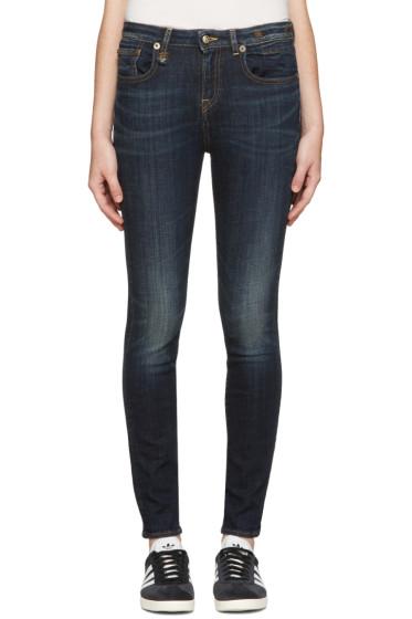 R13 - Indigo Jenny Jeans