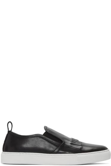 McQ Alexander Mcqueen - Black Chris Slip-On Sneakers