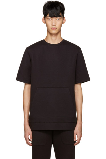Helmut Lang - Black Oversized Pullover