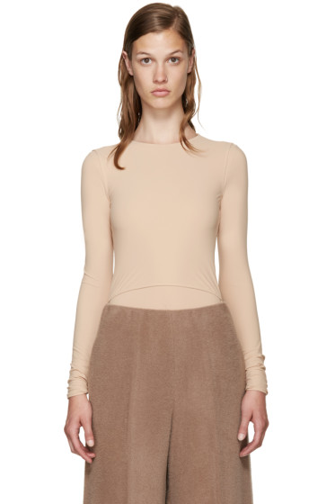 Maison Margiela - Beige Technical Bodysuit