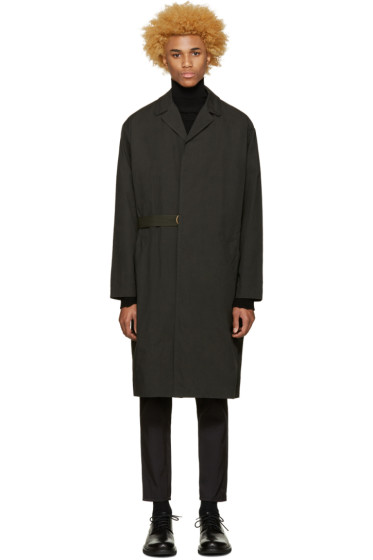 Robert Geller - Black Massimo Coat