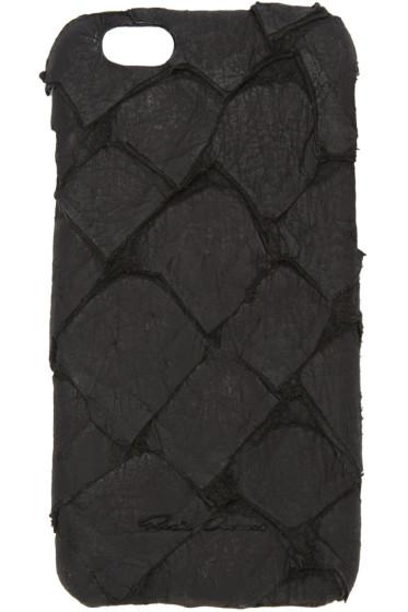 Rick Owens - Black Fish Leather iPhone 6 Case