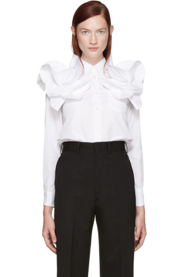 Junya Watanabe - White Detailed Shirt