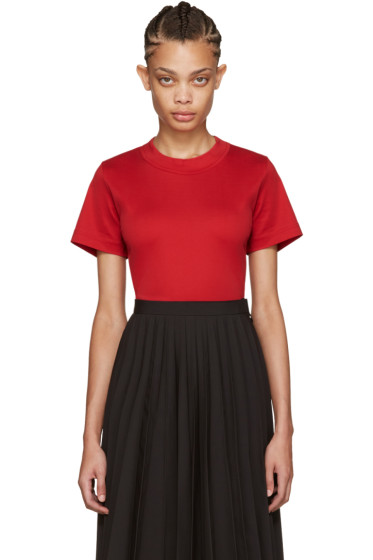 Junya Watanabe - Red Cotton T-Shirt