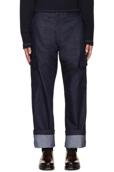 Junya Watanabe - Indigo Cargo Trousers