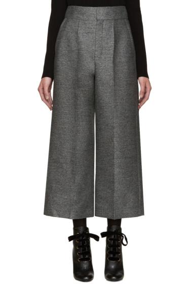 Lanvin - Grey Wool Culottes
