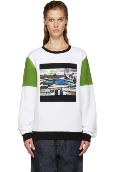 Opening Ceremony - White Space Agriculture Sweatshirt