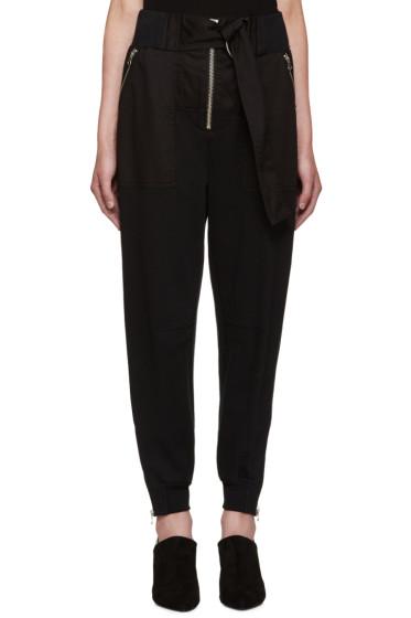 3.1 Phillip Lim - Black Utility Lounge Pants