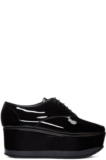 Repetto - Black Patent Leather Donie Oxfords