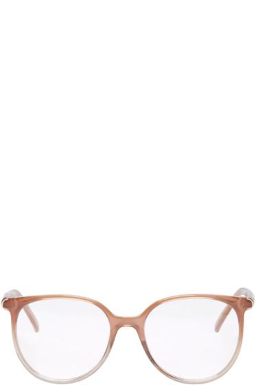 Chloé - Taupe Acetate Round Glasses