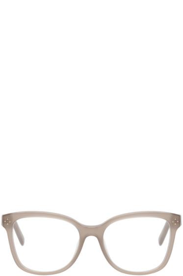 Chloé - Taupe Square Optical Glasses