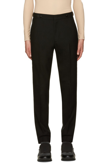 Juun.J - Black Wool Trousers