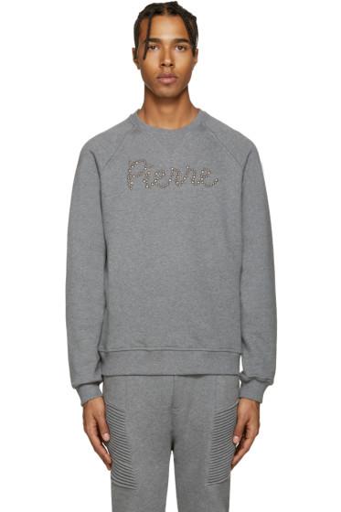 Pierre Balmain - Grey Logo Sweatshirt