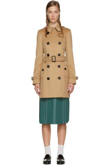 Burberry - Brown Kensington Trench Coat