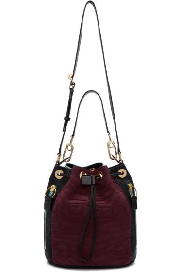 Kenzo - Burgundy Kombo Bucket Bag