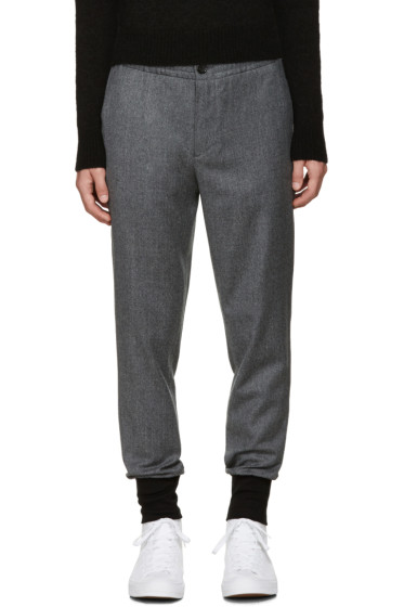 PS by Paul Smith - Grey Drawstring Trousers