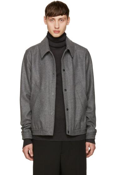 AMI Alexandre Mattiussi - Grey Wool Jacket