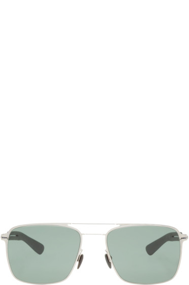 Mykita - Silver & Grey Flax Sunglasses