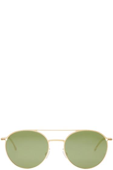 Mykita - Gold Roope Lite Sunglasses
