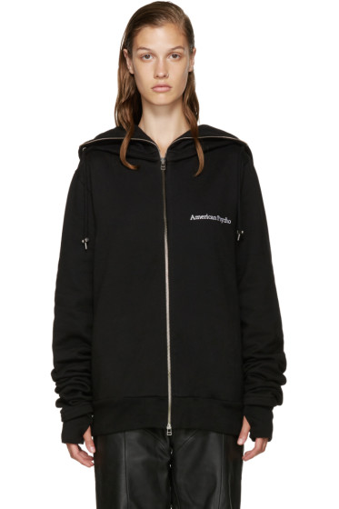 Hood by Air - Black Bret Hoodie