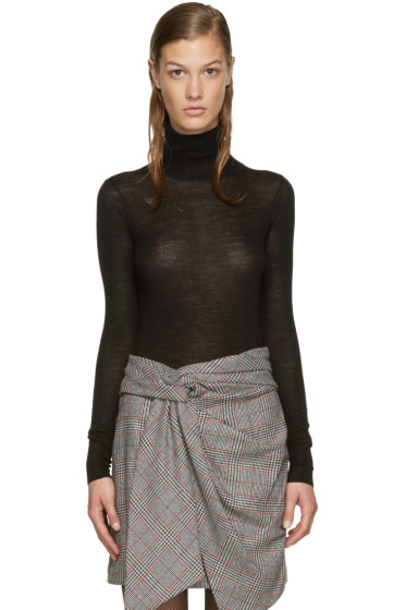 Isabel Marant - Black Merino Allen Turtleneck