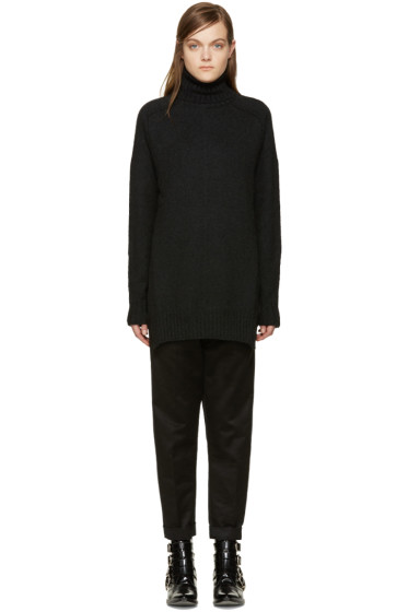 Isabel Marant - Black Camel Fergus Turtleneck