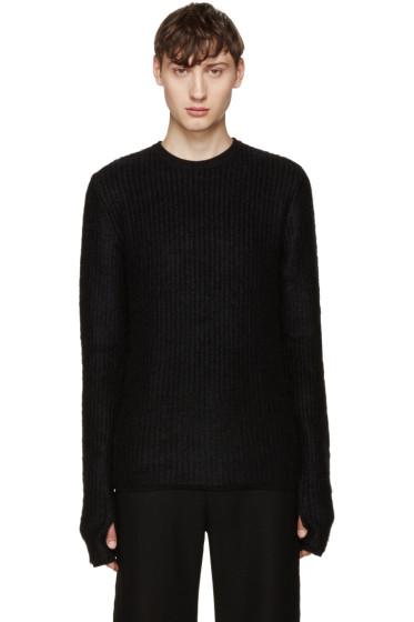 Johnlawrencesullivan - Black Ribbed Sweater